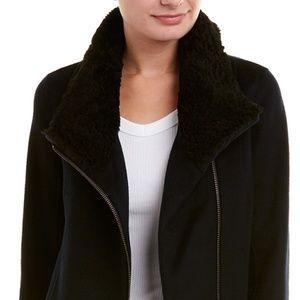 Vince Double-Face Wool-Blend Scuba Jacket